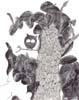 Chouette, 2014, feutre et stylo bille sur papier recyclé, 210x297 mm
