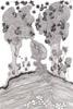 Baume la Roche, marqueur et stylo bille sur papier velin, 210x297 mm