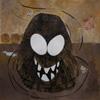 Boules de Poil, La naissance de Crado, illustration encre de chine et peinture acrylique, 21x29,7 cm