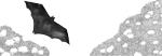 Batman, 2016, encre de chine et feutre fin
