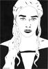 Daenerys, 2016, feutre fin, encre de chine et feutres à alcool, 21x29,7 cm