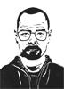 Heisenberg, 2016, feutre fin, encre de chine et feutres à alcool, 21x29,7 cm