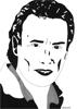 Rick, 2016, feutre fin, encre de chine et feutres à alcool, 21x29,7 cm