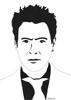 Robert Downey Jr, 2016, feutre fin, encre de chine et feutres à alcool, 21x29,7 cm
